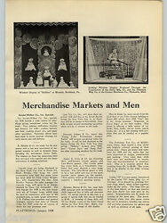 1928 Paper Ad Article Toy Store Window Display Images Daisy Air Rifle Bb Gun