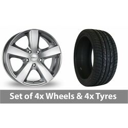 4 X 20 Dezent High Gloss Alloy Wheel Rims And Tyres - 275/40/20