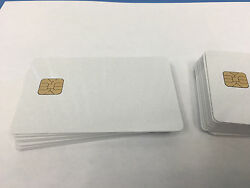 SLE 5528 Contact IC - Big Chip - Pearl PVC Smart Card - HiCo 2 Track - 1000 Pack