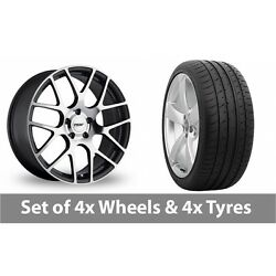 4 X 19 Tsw Nurburgring Forged Alloy Wheel Rims And Tyres - 285/30/19
