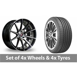 4 X 20 Axe Ex16 Polished Alloy Wheel Rims And Tyres - 275/35/20