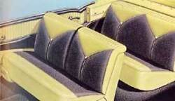 56 Chevy Bel Air Convertible Seat Covers New 1956 Chevrolet