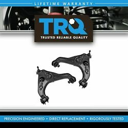 Trq Front Lower Control Arm W/ Ball Joint Pair Of 2 For Ford F150 Expedition