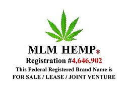 MLM HEMP® a Federal Registered Service Mark is FOR SALE