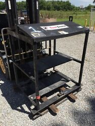 Miller Xmt350 Xmt304 Xmt456, 4 Pack / 6 Pack Electric Welders Rack Lc55561