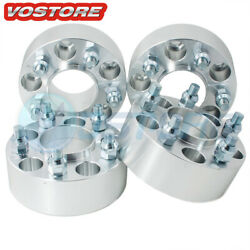 4 2and039and039 8 Lug Wheel Spacers Adapters 8x6.5 Fits Chevy Dodge Ram W250 9/16 Studs