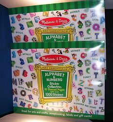 Childrens Stickers 1000 Letters 10 Styles set of 2 Melissa and Doug 7