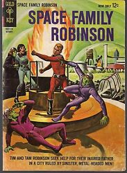 Space Family Robinson Lost In 10 Gk 1964 Captive Planet + Capt Venture Fn