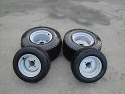 Titan Multi-trac 18x8.50-10 Front And 26x12.00-12 Rear Tires And Wheels