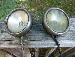 Antique 1920s 1930and039s Cowl Lights Cadillac Packard Buick Olds Nash Chrysler Dodge