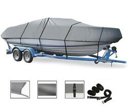 Semi-custom Boat Cover For Pro-style Bass / Walleye Boats Up To 20and039 L96 Width