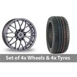 4 X 19 Ac Wheels Saphire Silver Alloy Wheel Rims And Tyres - 235/50/19