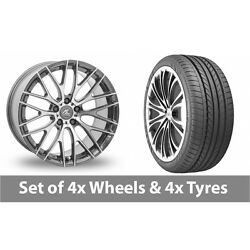 4 X 20 Ac Wheels Syclone Hyper Silver Alloy Wheel Rims And Tyres - 275/35/20