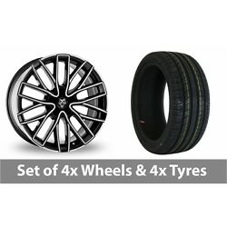 4 X 20 Wolf Design Wolf Design Gtp Alloy Wheel Rims And Tyres - 225/30/20