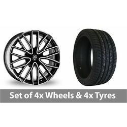 4 X 20 Wolf Design Wolf Design Gtp Alloy Wheel Rims And Tyres - 275/40/20
