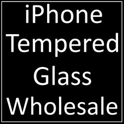 Bulk Wholesale Joblot Tempered Glass Screen Protectors For All Iphone Devices