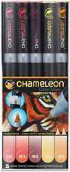 CHAMELEON COLOR TONES MARKERS - 5 SET - WARM TONES