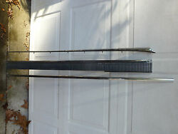 1964 Oldsmobile 98 4dr Right Rocker Panel And 57 7/8 Molding Trim And Hood Spear