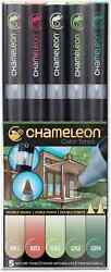 CHAMELEON COLOR TONES MARKERS - 5 SET - NATURE TONES