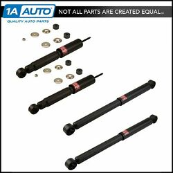KYB Excel-G Front & Rear Shock Absorber 4 Piece Kit for Chevy GMC Pickup Truck