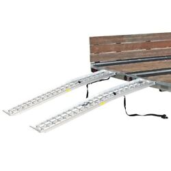 72 X 14 Dual Arched Atv Trailer Ramps 2000 Lb Capacity