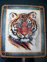Counted Cross Stitch Dimensions Gold Nuggets Kitdramatic Tiger Portrait35060