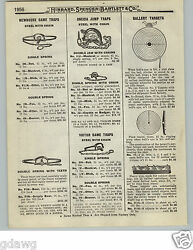 1919 Paper Ad Newhouse Iron Leg Hold Traps 6 6 Grizzly Bear 5 5 Black
