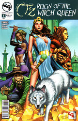 Grimm Fairy Tales Presents Oz Reign Of The Witch Queen 1 - Cover A - New Bagged