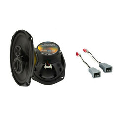 Fits Lincoln Mark Vii 1984-1988 Rear Deck Replacement Harmony Ha-r69 Speakers