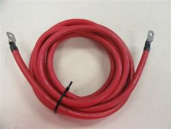 Starboard Engine 2/0 Awg Electrical Wire 17 1/2and039 Ft Red Marine Boat