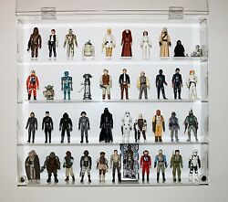 Collectors Showcase - Premium Display Case For 3-3/4 Star Wars Figures - T3ms