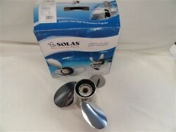 Solas Titan 2542-150-19 Stainless Steel Propeller Lh 15 D X 19 Pitch Boat