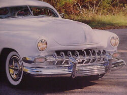 54 Chevy Grill W/9 Teeth New Manufacturer Fits All Models 54 Chevy Cars Bayest