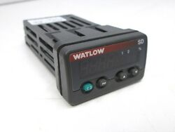 Watlow SD3C-HCJA-AARG Temperature Controller 100-240VAC Programmable Dual Output