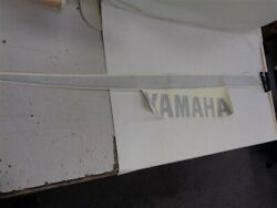 Yamaha Aft Hull Starboard Decal Green / Silver 75 X 11 3/4 Marine Boat
