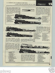1957 Paper Ad 4 Pg American Flyer Electric Railroad Set 5550w Pacemaker Freight