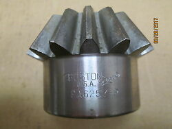 NEW OTHER BOSTON PA625Y P BEVEL PINION GEAR 15 TEETH 1quot; PLAIN BORE 5 PITCH.