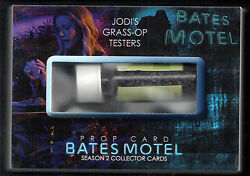 Bates Motel Season 2 Breygent Sdcc Prop Card Sd-bp5 Grass-op Tester 2 Of 4