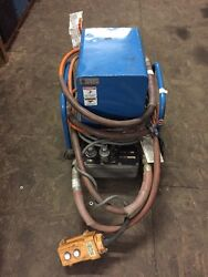 Huskie R-14ea-d Double Acting Hydraulic Pump Pendent Control 3/4 Hp 10000 Psi