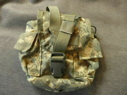 Army Military Issued Molle Ii Camo Acu 1 Qt. Canteen Pouch 8465-01-525-0585