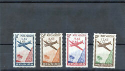 Reunion Sc C2-5 Varyt A2c-5cvf Nh 1938 Air Set Double Surcharge Rare 5250