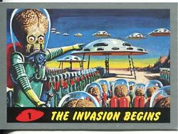 Mars Attacks Heritage Complete 55 Card Silver Parallel Base Set