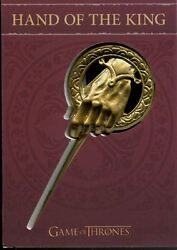 Game Of Thrones Season 4 Archive Exclusive Shield Pin Card H7 Hand Of The King