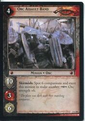 Lord Of The Rings Ccg Card Rotk 7.u295 Orc Assault Band