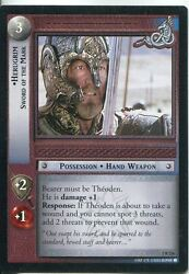 Lord Of The Rings Ccg Card Rotk 7.r236 Herugrim Sword Of The Mark