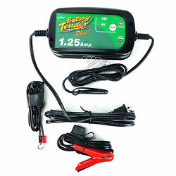Battery Tender 1.25 Amp Selectable Charger 6 12 Volt 6V 12V Street Bike Honda