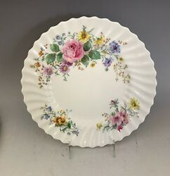 Royal Doulton Arcadia Dinner Plate Green And Brown Backstamp