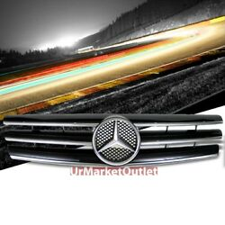 Front Black CL-Style Grille for Benz SL-Class W129R129 SL280 300 320 500 600