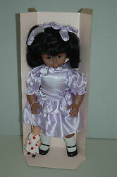 Lissi Batz World Wide 21 Doll Vinyl And Cloth No 75506 African/american W/toy