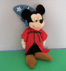 Applause Disney Mickey Mouse Fantasia Sorcerer 17 Doll Toy Plush Stuffed Wizard